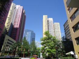 Området runt LTL Peking