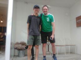 Lärare i kinesiska och elev i Chengde