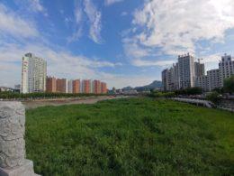 Klar himmel i Chengde