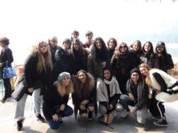 Utforskar Peking - Italienska gymnasieelever reser till Kina