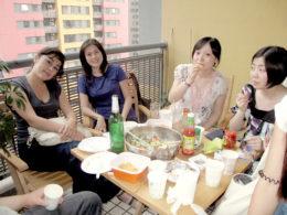 Dags att dela lunch på LTL Shanghai