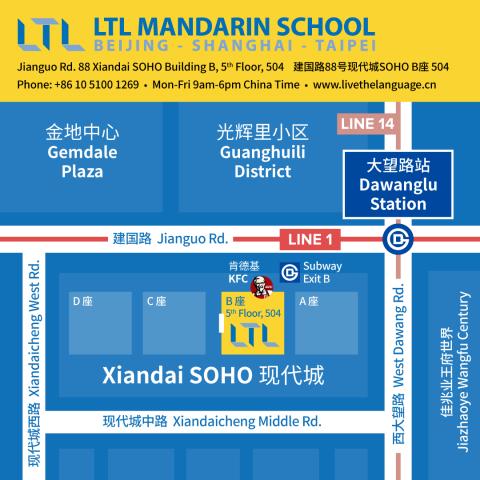 Hur man hittar LTL Beijing