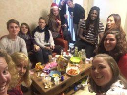 Elever firar julafton
