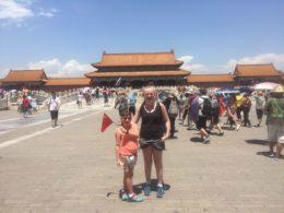 Besöker den förbjudna staden i Peking