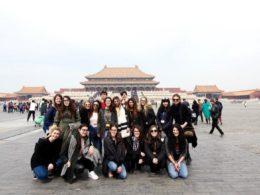 Spenderar lite tid ute i Peking