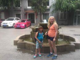 Familjen Chabowski utforskar Kina