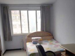 Typiskt sovrum hos vår värdfamilj i Chengde