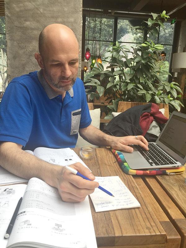 Lär sig kinesiska i Chengde