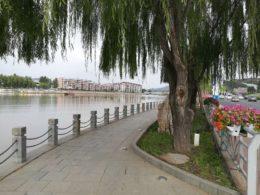På promenad i Chengde