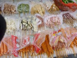 Mat tillgänglig på Chengdes gator