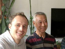 Dags för mat hos värdfamiljen i Chengde