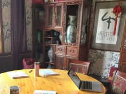 Dags för en lektion i kinesiska i Chengde
