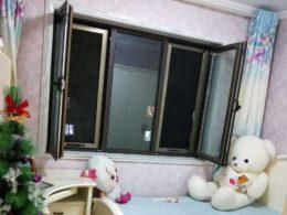 Ett typiskt sovrum hos en värdfamilj i Chengde