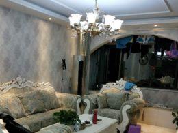 Vardagsrum hos värdfamilj i Chengde
