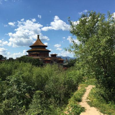 Chengde i solen