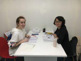 Elev studerar mandarin i Kina med LTL Mandarin School