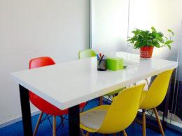 Klassrum för grupplektioner