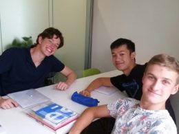 Mandarinlektioner i Peking