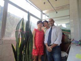 Bor hos värdfamilj i Chengde