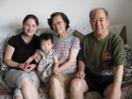 Kinesisk värdfamilj i Peking