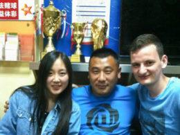 Elever och personal i Chengde
