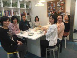 Teamet på LTL Shanghai