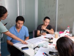 Studerar i Kina