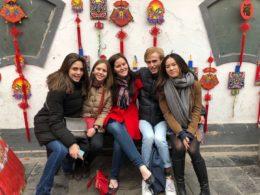 Elever från LTL utforskar omgivningarna i Kina