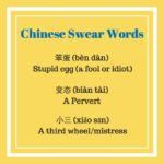 Kinesiska Svärord - Svordomar på mandarin som du borde känna till Thumbnail