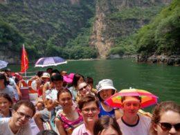 Dagstur med eleverna och personal från LTL i Chengde