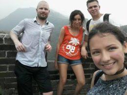 Utforskar kinesiska muren