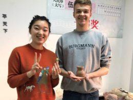 Keramiklektion i Chengde