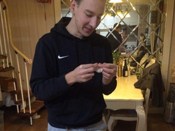 Max lagar klimpar i Chengde