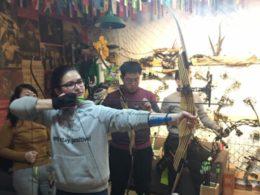 Pilbågsskytte i Chengde