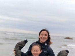 Nadia och hennes värdsyster i Chengde