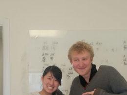 Eleven Charles studerar kinesiska i Peking