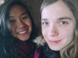 Jocelyn och Katrin utforskar Kina tillsammans