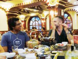 Middag, dryck och trevligt sällskap för LTL Shanghai