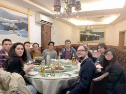Middag på onsdag kväll för LTL Shanghai