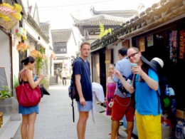 Utforskar Kina