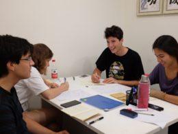 Studerar mandarin i Shanghai