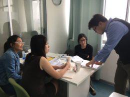 Studietid - lektioner i kinesiska i Kina
