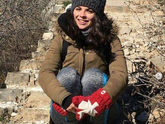 Sara på kinesiska muren