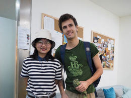Elev med läraren Dannie