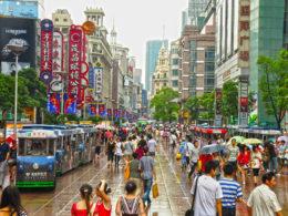 Shopping i Shanghai
