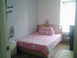 Sovrum hos vår värdfamilj i Shanghai