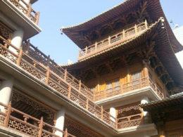 En solig dag i Shanghai