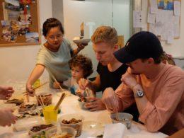 Delar mat på LTL Shanghai