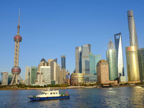 The Bund i Shanghai