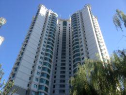 Byggnad i Peking för våra lägenheter
